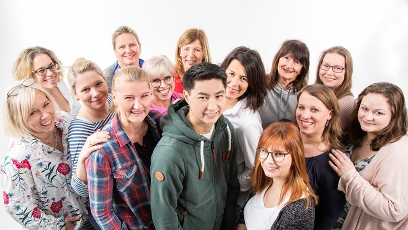 Team Praxis Krankengymnastik & Ergotherapie am Theater in Hagen.